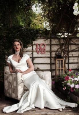 1940's Style Wedding Dress