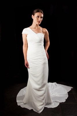 Vintage Inspired Grecian Style Gown